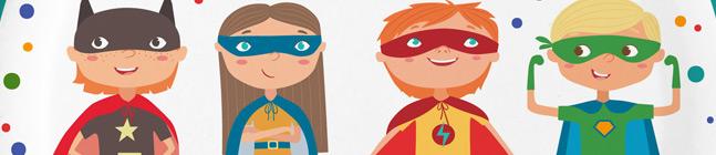 Thème d'anniversaire Super-Héros pour votre enfant
