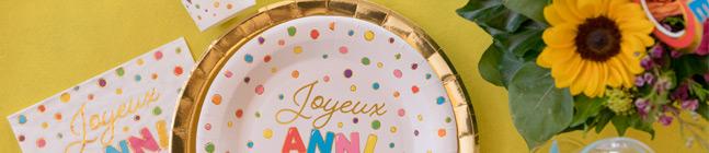 Thème d'anniversaire Anniversaire Ballon Multicolores pour votre enfant