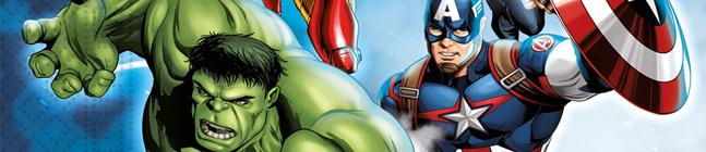 Thème d'anniversaire Avengers - Compostable pour votre enfant