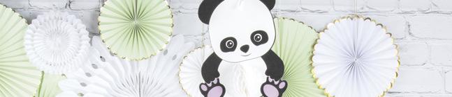 Thème d'anniversaire Baby Panda pour votre enfant
