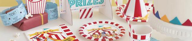 Thème d'anniversaire happy circus pour votre enfant