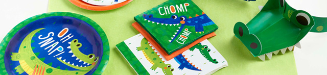 Thème d'anniversaire Croco Party pour votre enfant