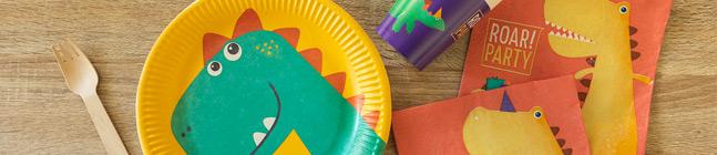 Thème d'anniversaire Dino pour votre enfant