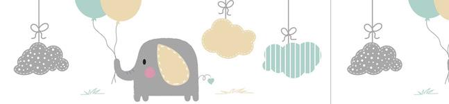 Thème d'anniversaire Elephant Baby pour votre enfant