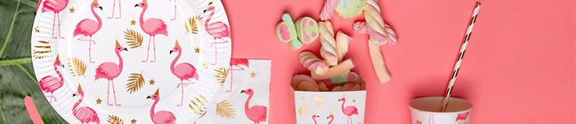 Thème d'anniversaire Flamant Rose pour votre enfant