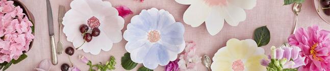Thème d'anniversaire Fleurs de Printemps pour votre enfant