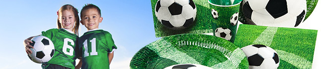 Thème d'anniversaire football pour votre enfant