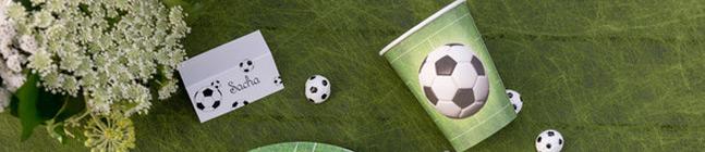 Thème d'anniversaire Foot Vert pour votre enfant