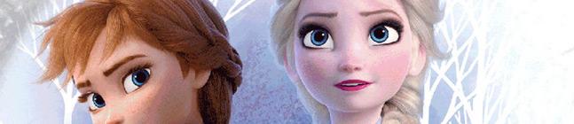 Thème d'anniversaire Frozen 2 - Compostable pour votre enfant