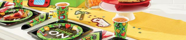 Thème d'anniversaire Game Party pour votre enfant