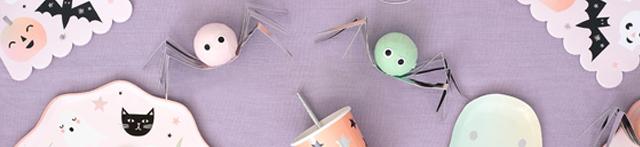 Thème d'anniversaire Halloween Pastel pour votre enfant