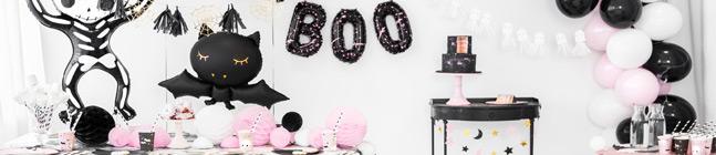 Thème d'anniversaire Halloween Rose pour votre enfant