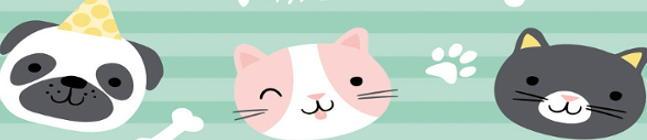 Thème d'anniversaire Hello Pets pour votre enfant