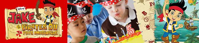 Thème d'anniversaire captain jake pour votre enfant