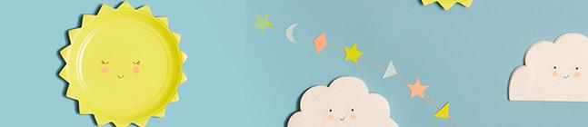 Thème d'anniversaire Joli Jour pour votre enfant