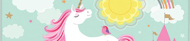 Thème d'anniversaire Licorne Magique pour votre enfant