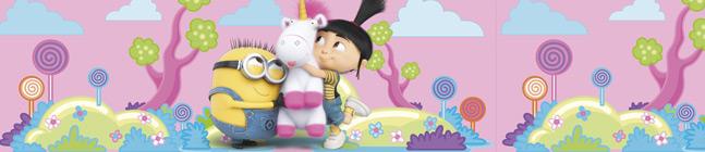 Thème d'anniversaire Minions Licorne pour votre enfant