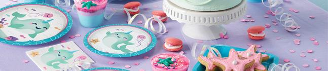 Thème d'anniversaire Narval Party pour votre enfant