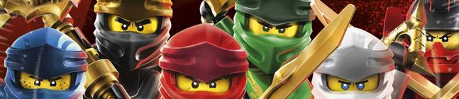 Thème d'anniversaire Ninjago - Compostable pour votre enfant