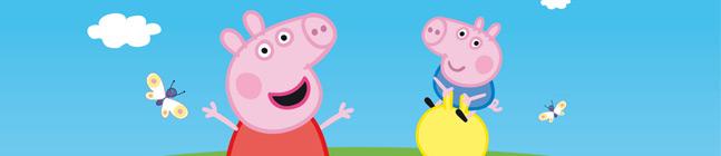 Thème d'anniversaire Peppa Pig Fun pour votre enfant