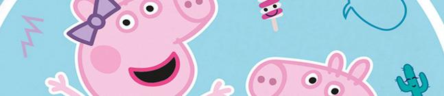 Thème d'anniversaire Peppa Pig - Compostable pour votre enfant