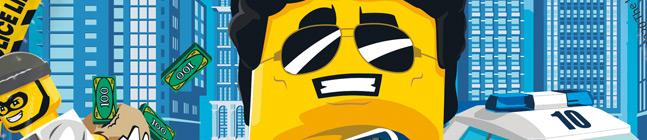 Thème d'anniversaire Lego City pour votre enfant