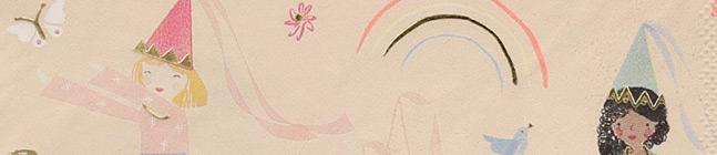 Thème d'anniversaire Princesse Magique pour votre enfant