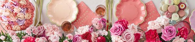 Thème d'anniversaire Roses pour votre enfant