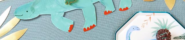 Thème d'anniversaire Royaume des Dinosaures pour votre enfant