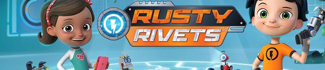 Thème d'anniversaire Rusty Rivets pour votre enfant