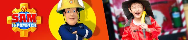Thème d'anniversaire Sam le Pompier Fireman pour votre enfant