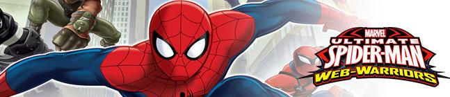 Thème d'anniversaire spider-man web-warriors pour votre enfant