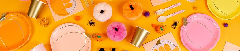 Thème d'anniversaire Citrouille Mixte Pastel pour votre enfant