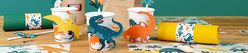 Thème d'anniversaire Dinosaures pour votre enfant