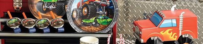 Thème d'anniversaire Monster Truck Rally pour votre enfant