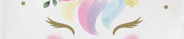 Thème d'anniversaire Unicorn Baby pour votre enfant