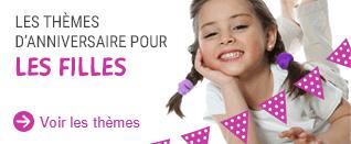 Anniversaire Filles : tous les thèmes anniversaire pour les filles