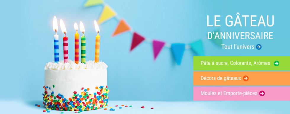 Les gâteaux pour l'anniversaire des enfants