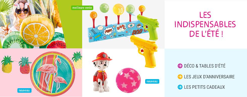Les indispensables de l'été pour les enfants Jeux !