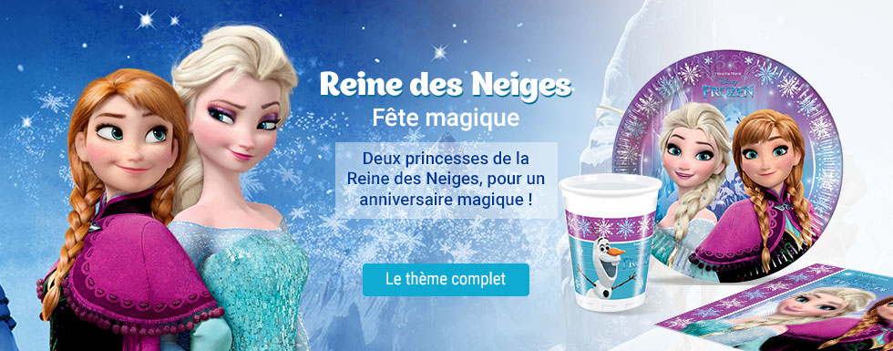 Reine des Neiges fête magique