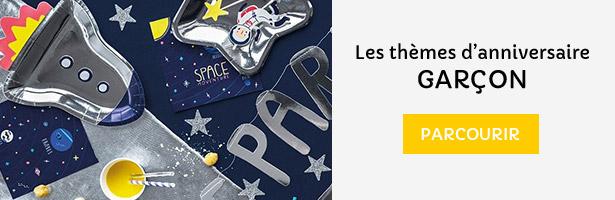 Anniversaire Garçons : tous les thèmes anniversaire pour les garcons