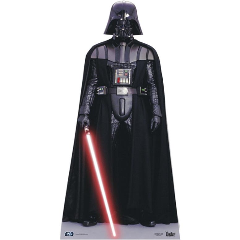 Silhouette Geante Carton Star Wars Dark Vador 195 Cm Pour L Anniversaire De Votre Enfant Annikids