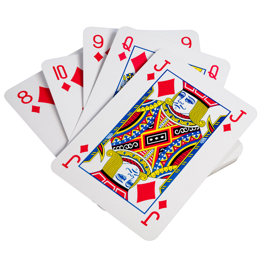 Jeux De Cartes Geant Pour L Anniversaire De Votre Enfant Annikids