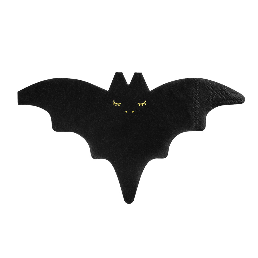 20 Serviettes Chauve Souris Kawaii Deco Table Halloween Annikids