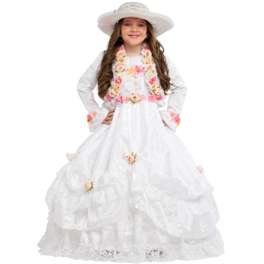 c2967d4e5a2 Déguisement princesse avec roses luxe pour l anniversaire de votre enfant -  Annikids