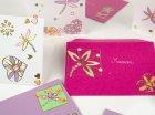 Atelier carte de vœux Stickers contours Or