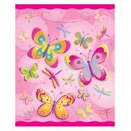 8 pochettes à cadeaux papillons