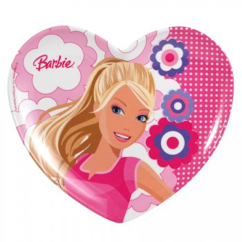 Assiette mélamine barbie