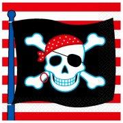 16 Serviettes Pirate Party
