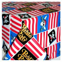 Contient : 1 x Nappe Pirate Party